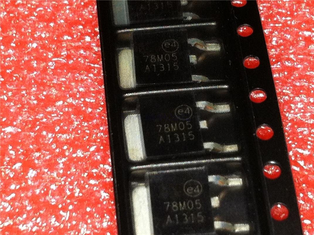 50 PCS L7805CD2T TO-263 L7805C2T LM7805 7805 L7805 POSITIVE VOLTAGE REGULATORS