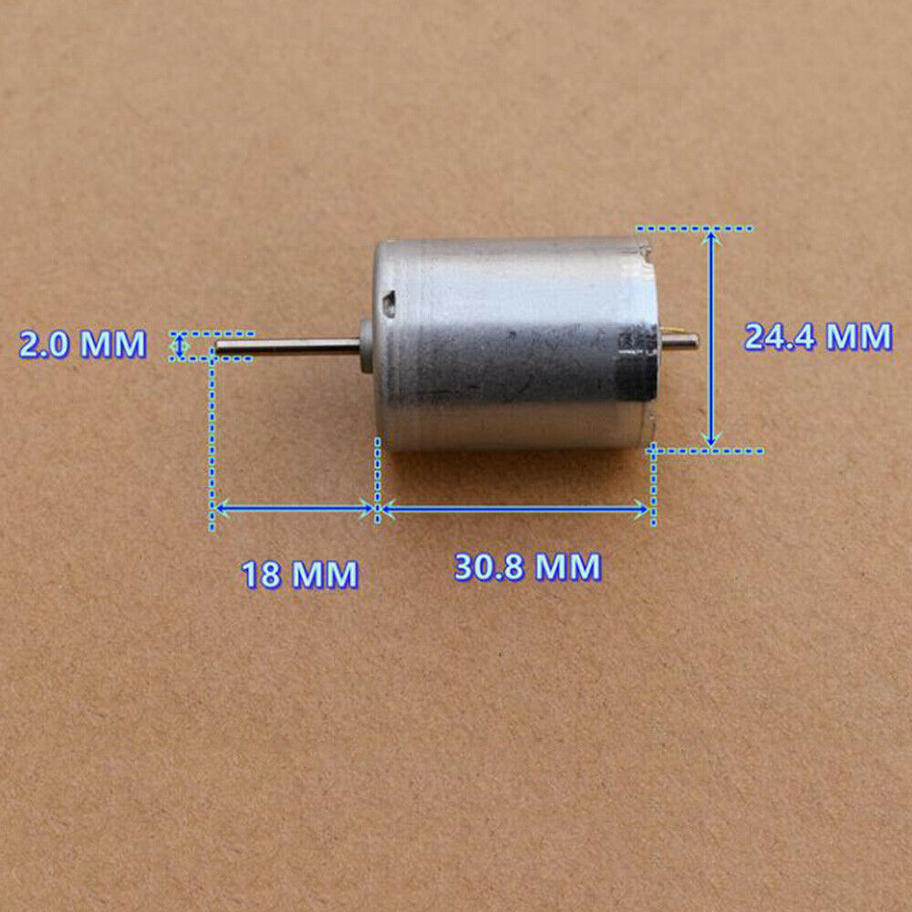 1pcs DC12V 9000rpm High Speed 130 Micro Motor For DIY Toy Car Boat Airplane HM