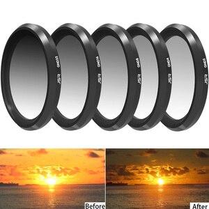 Image 4 - Lens filtre Sony RX100M1/M2/M3/M4/M5 GND8 ND2/4/8/ 16/32 renk UV Sony RX 100 I/II/III/IV/V nötr yoğunluk Filtor seti