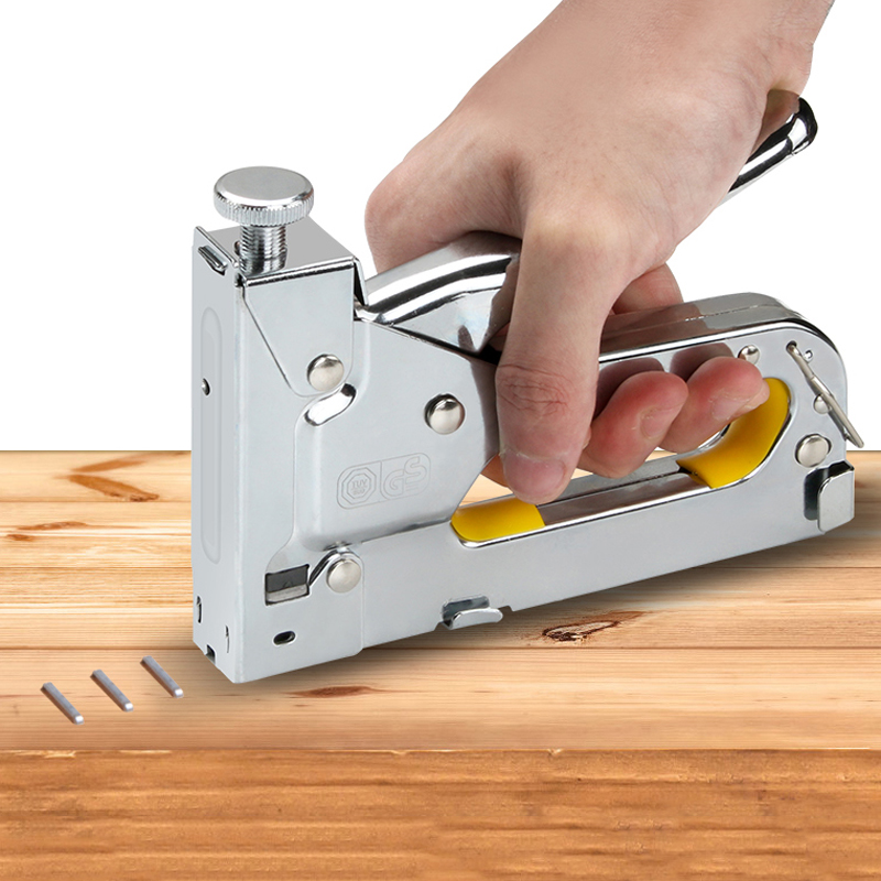 Multitool Nail Stapler Gun Furniture Stapler For Wood Door Upholstery Framing Rivet Gun Kit Nailers Rivet Tool Stationery
