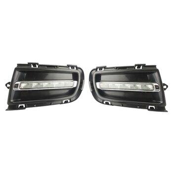 1Set White LED Daytime Running Lights DRL Fog Lamps for Mazda 6 2005-2008