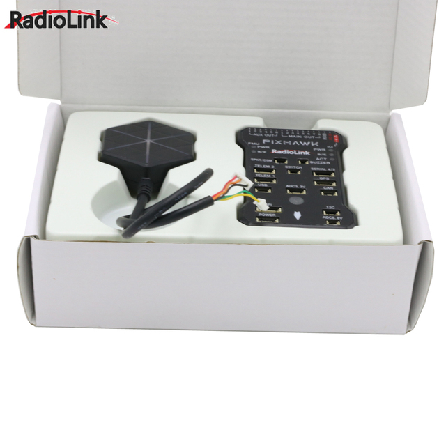 Radiolink Pixhawk PIX APM Flight Controller with M8N GPS Buzzer 4G SD Card Telemetry Module For RC Drone