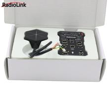 Radiolink Pixhawk PIX APM טיסת בקר עם M8N GPS זמזם 4G SD כרטיס טלמטריה מודול למזלט RC