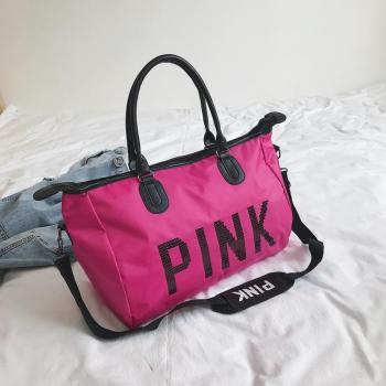 Pink Top-Handle Women's Bag