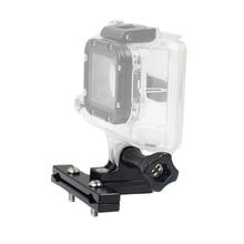 Bicycle Saddle Rail Seat Lock Mount Stabilizer Aluminium with Thumb Knob Screw for Gopro Hero 3+ 4 5 SJ4000 SJ5000 Xiaoyi Camera