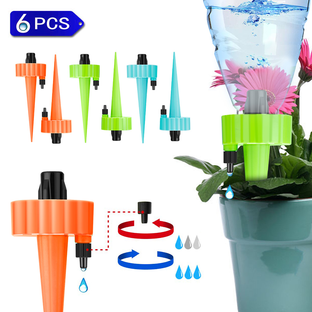 Automatic Irrigation Watering Spike For Plants Flower Household Auto Drip Irrigation Watering System Waterer Soil Mud Hydrogel