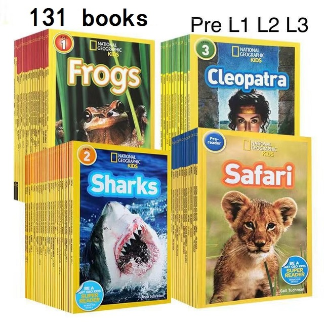 131 books English picture book National Geographic Kids pre level 1 3 be a NAT GEO