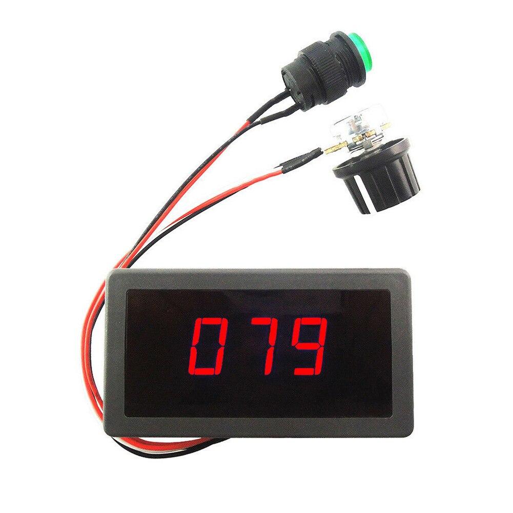 DC6-30V CCM5D 10A PWM Motor Speed Controller Digital Display Switchs