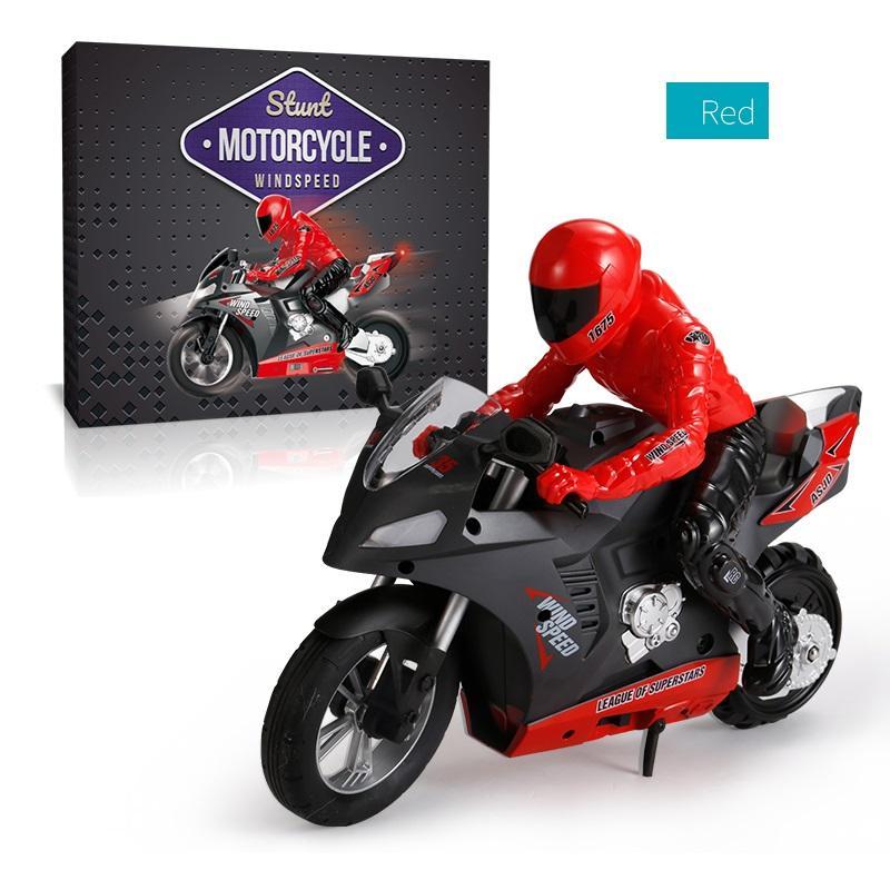 DG-801 1/6  1:6 Self-Balancing RC Motorcycle Rc Machine 6 Axis Of Gyroscope Stunt Racing Motorcycle Plastic Mini Motorcycles Toy