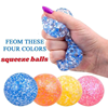 Colorful Tangle Fidget Globbles Toys Anti-Stress Squeeze Relax Jelly Beads Squishy Anxiety Figet Sensory Toys