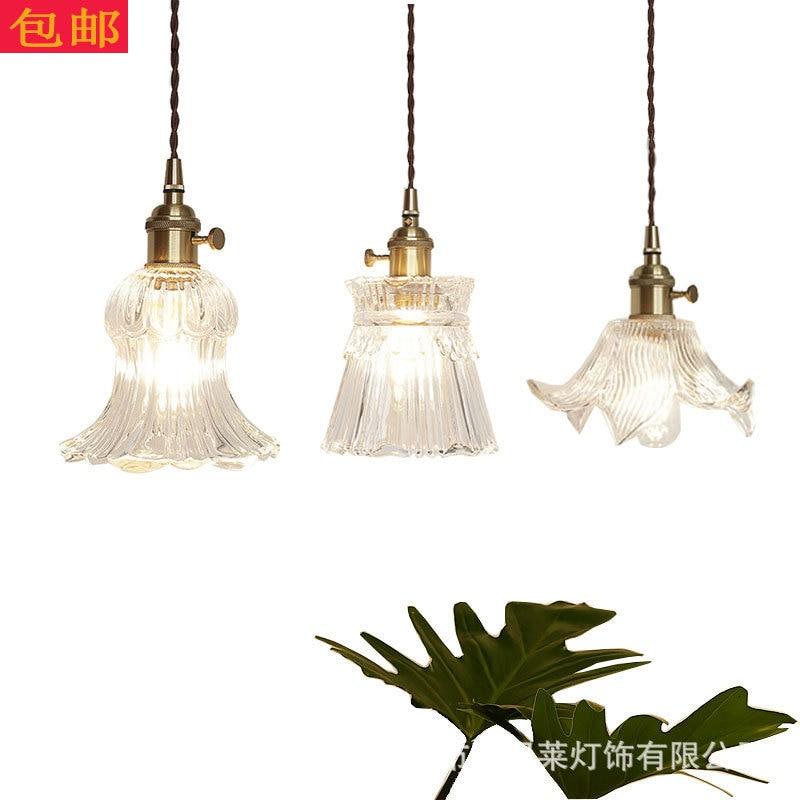 modern hanglamp industrial lamp crystal Home Decoration E27 Light Fixture  living room  bedroom luminaire pendant lights