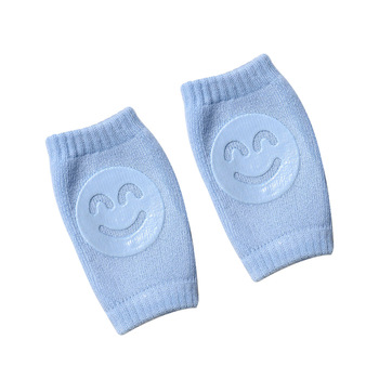 Skarpetki dziecięce frotte nałokietniki maluch pełzające ochraniacze na kolana niemowlęta i dzieci ochraniacze na kolana ochraniacze na kolana uśmiech ochraniacze na kolana tanie i dobre opinie COTTON Cartoon Unisex Na co dzień A3107
