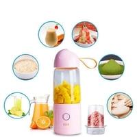 550Ml Portable Electric Fruit Juicer Cup Mini Usb Rechargeable Stainless Steel Vegetable Lemon Citrus Juicer Blender Bottle|Juicers| |  -