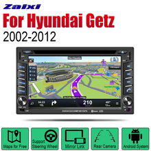 ZaiXi Auto Radio 2 Din Android Car DVD Player For Hyundai Getz 2002~2012 GPS Navigation BT Wifi Map Multimedia system Stereo