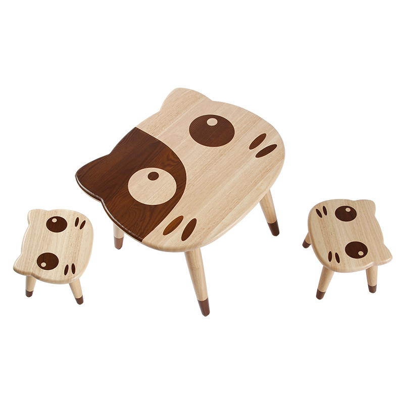 Children's Table And Chair,solid Wood Baby, Small Table, Early School Home Kindergarten, Learning Table, Toy Table