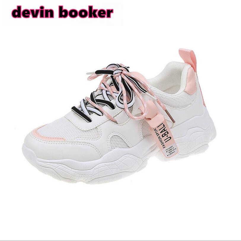 New Listing Hot Sale Spring And Summer  Net Women Breathable Sports Shoes Running Shoes DK05