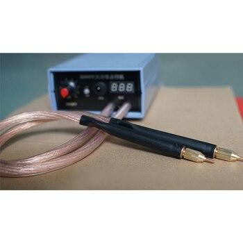 3500W 5000W Mini Spot Welder 18650 Battery Nickel Strip diy Adjustable Auto Spot welding Machine pen for 0.2MM Nickel Sheet