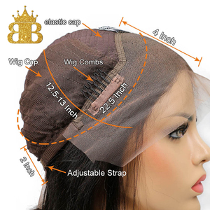 Image 3 - 짧은 밥 스트레이트 가발 130% 밀도 레미 인간의 머리 가발 여성을위한 자연 블랙 컬러 pre plucked bib hair