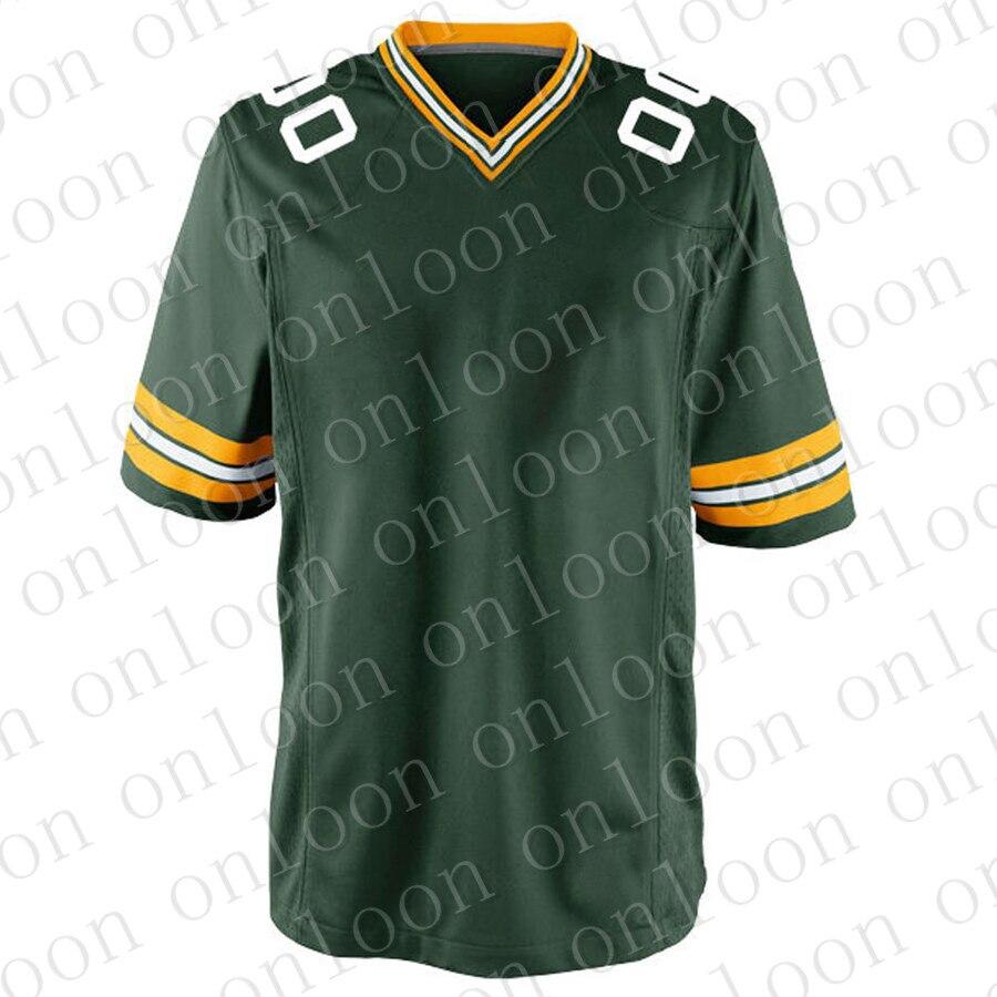 Game Mens New 2020 American Football Green Bay Sport Fans Wear Aaron Rodgers Brett Favre Davante Adams Reggie White Jerseys