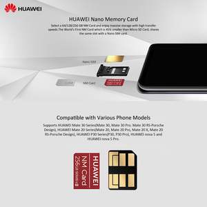 Image 5 - Huawei NM Card Original 90MB/s 64GB/128GB/256GB Apply to Mate20 Pro Mate20 X P30 Huawei USB3.1 Gen 1 Nano Memory Card Reader