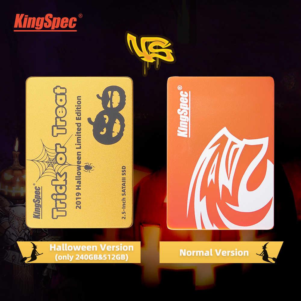 KingSpec hdd 2,5 120 ГБ SSD 240 ГБ 480 ГБ SSD SATA III 3 Внутренний твердотельный накопитель ssd жесткий диск для ноутбука для компьютера с объемом оперативной памяти 1 ТБ