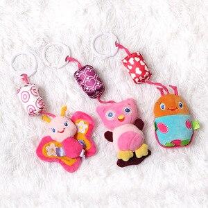 Image 5 - Baby Rammelaar Speelgoed Pluche Kinderwagen Opknoping Bell Ring Mobiles Infant Baby Zachte Crib Kids Educatief Speelgoed Voor Kinderen Gift Sozzy