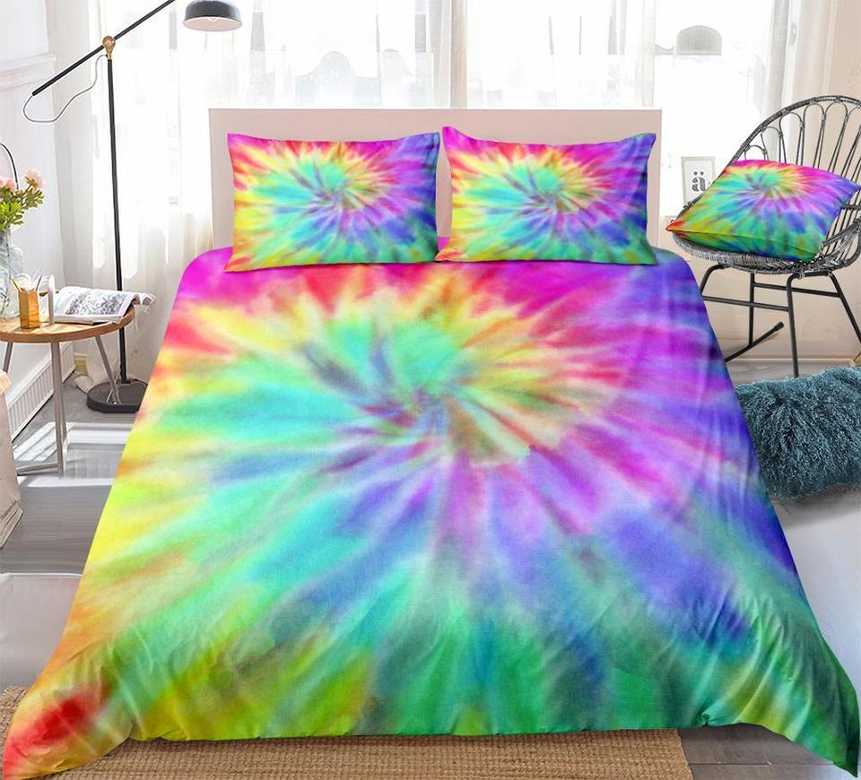 Tie Dye Bedding Rainbow Dyed Duvet