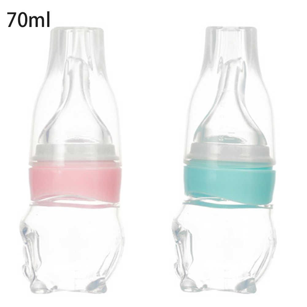 Baby Medizin Dispenser Schnuller Silikon Quetschen Fütterung Wasser Saft Flasche