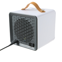 400 800W grzejniki domowe małe grzejniki przenośny podgrzewacz biurkowy z zabezpieczeniem przed przegrzaniem tanie tanio 130 * 130 * 130mm 5 1 * 5 1 * 5 1in Wolnostojące Heater Indoor