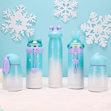 300ml Snow Rabbit Thermo Cup Stainless Steel Kid Thermos Bottle for Water Mug Cute Thermal Vacuum Flask Child Tumbler