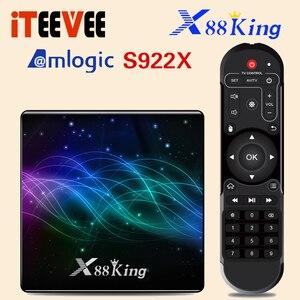 Image 5 - X88 King Android 9.0 Tv Box S922X Hexa Core Mali G52 MP6 LPDDR4 4Gb 128Gb Set Top Box dual Wifi Bluetooth 5.0 1000M Lan Speler