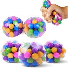 1/3/5pc cor sensorial brinquedo escritório estresse bola pressão bola alívio do estresse brinquedo (2ml) descompressão brinquedo fidget alívio do estresse presente