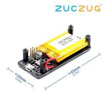 Raspberry pi zero 0 w placa de energia ups, porta serial integrada, detecção de energia