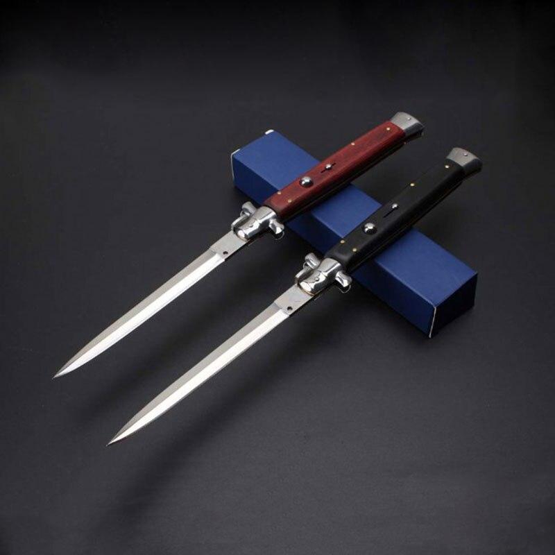MANCROZ версия 13 дюймов итальянский AKC Крестный отец стилет мафия портативный складной нож карманные ножи