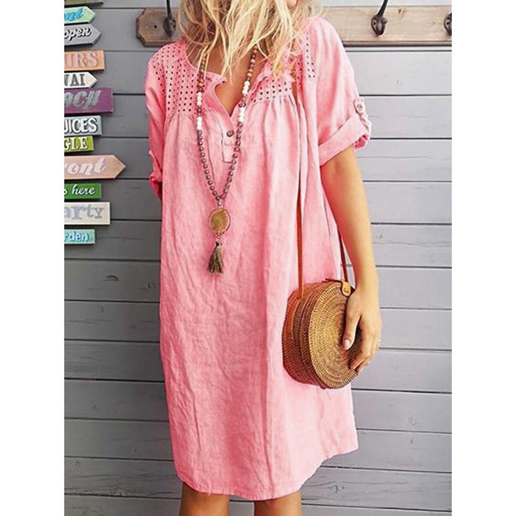 """Купить онлайн - Купить """"Летнее женское платье в стиле бохо ..."""