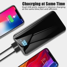Charger Powerbank Charging Power Bank 10000mAh Portable for Smart Mobile Phone xiaomi Iphone