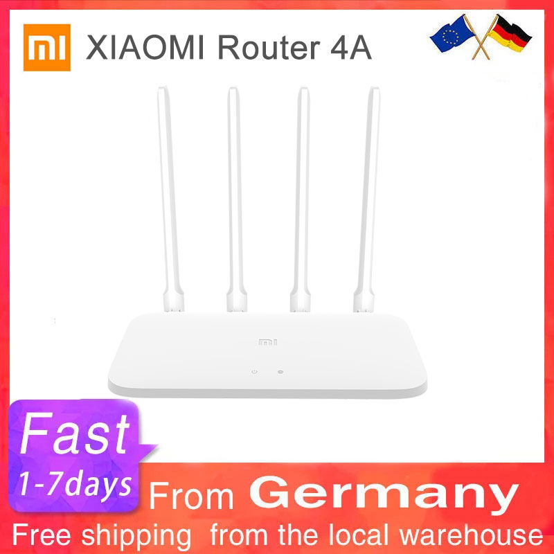 Xiaomi Mi роутер 4A 100 м 2,4 ГГц Wi-Fi 5 ГГц DDR3 64MB 128MB 4 антенны приложение управления Wi-Fi беспроводной маршрутизатор глобальная версия