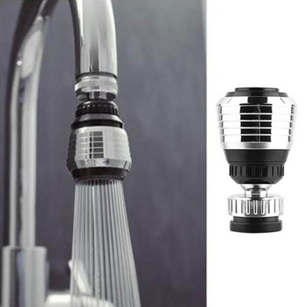 360 Rotatable Faucet Swivel End Diffuser Water Saving Adapter Device Anti-Splash Shower Bath Valve Filter For Home
