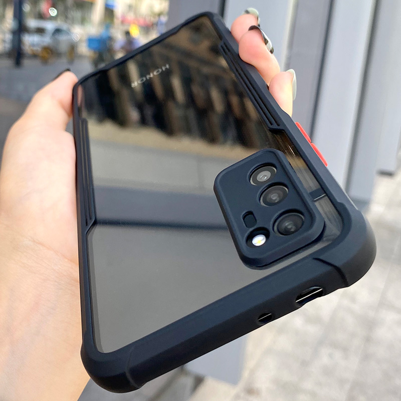 Luxe Shockproof Frame Clear Telefoon Case Voor Huawei P40 P30 Pro Lite Lens Volledige Beschermende Transparante Cover Voor Huawei P 40 P30