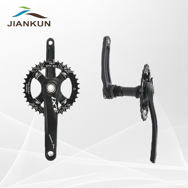 IXF 104bcd 32-42T MTB Bike Narrow Wide Crankset Crank Chainring 9//16in Pedeal