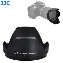 Capa reversível da lente da câmera da flor de jjc para tamron 16 300mm f/3.5 6.3 di ii vc pzd lente macro substitui tamron hb016 capa da lente