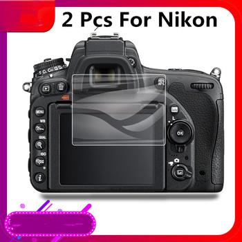 2 sztuk 9H cameraTempered szkło ochrona ekranu LCD do aparatu Nikon B500 D500 D600 D610 D750 D800 D810 D850 D90 D3000 D3100 D3200 tanie i dobre opinie CN (pochodzenie) Kamera for Nikon