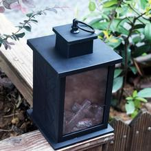 LED Fireplace Lantern Light Handheld Hanging Lamp For Home Festival Decoration Outdoors Lighting Festive Decorative Flame Light