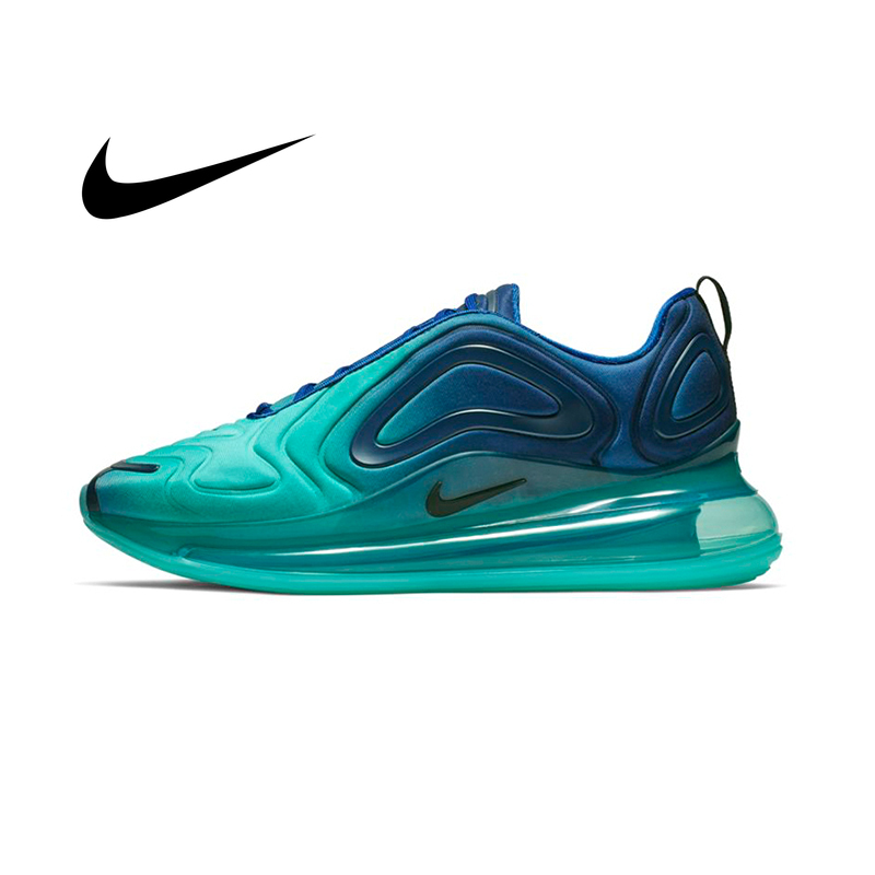 Original Authentic NIKE Air Max 720 Men's Running Shoes Sneakers Breathable Outdoor Sports Designer Athletic 2019 New AO2924-400