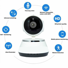 Two Way Audio IP Camera 720P Motion Detection Camera IR Night Vision 3.6mm Lens CCTV Camera Home Security For Kids Monitor