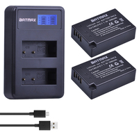 Batmax LP-E17 LPE17 LP E17 Batterie akku + LCD Dual USB Ladegerät für Canon EOS T6i 750D T6s 760D 800D m3 M5 8000D Kuss x8i