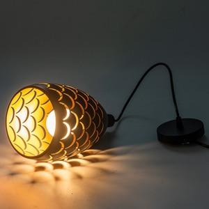 Image 5 - 1/3 ראשי כבל תליון תקרת מנורות לופט עבור מטבח Led תליון אורות חדר אוכל תליית אור מתקן Led תליון תאורה