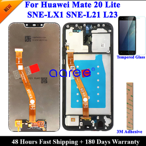 Tested Original LCD Display For Huawei Mate 20 lite LCD For Huawei mate 20 lite Display LCD Screen Touch Digitizer Assembly