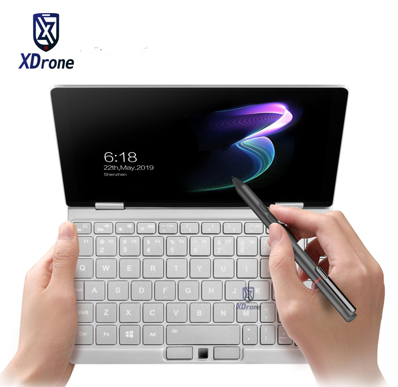 Original One Mix 3 Pocket Laptop Mini PC Windows 10 Intel Core M3-8100Y Fingerprint Recognition 8.4