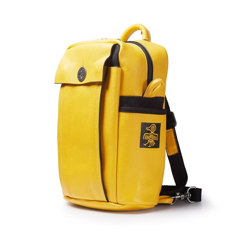 FOXER дизайнерские сумки известный бренд женские сумки 2019 новая женская сумка из натуральной кожи Модный женский рюкзак Отдых большая вмести... - 4